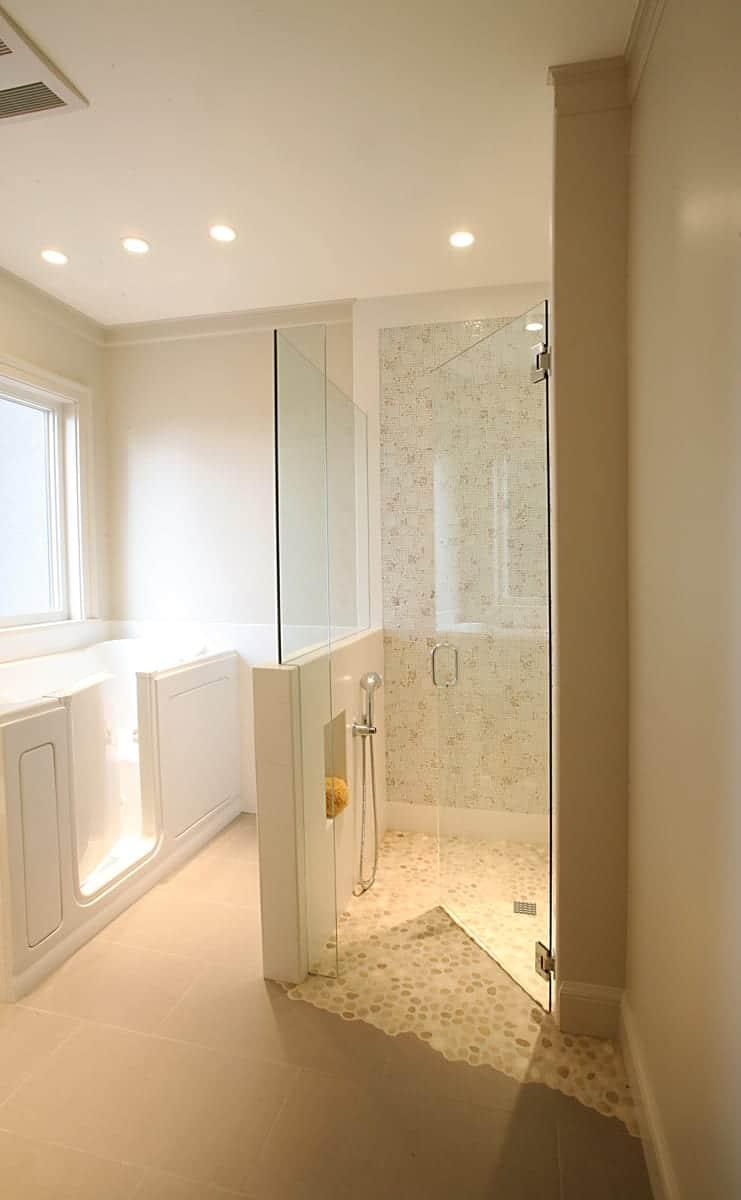 Hawthorne tile universal design master bath - Universal design bathrooms ...