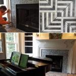 mosaic fireplace